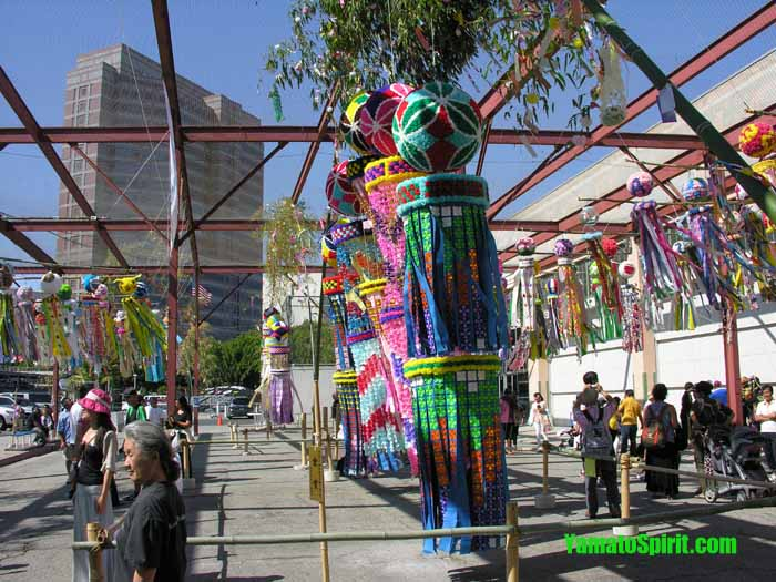 Tanabata banners, all winners in this year's festival.